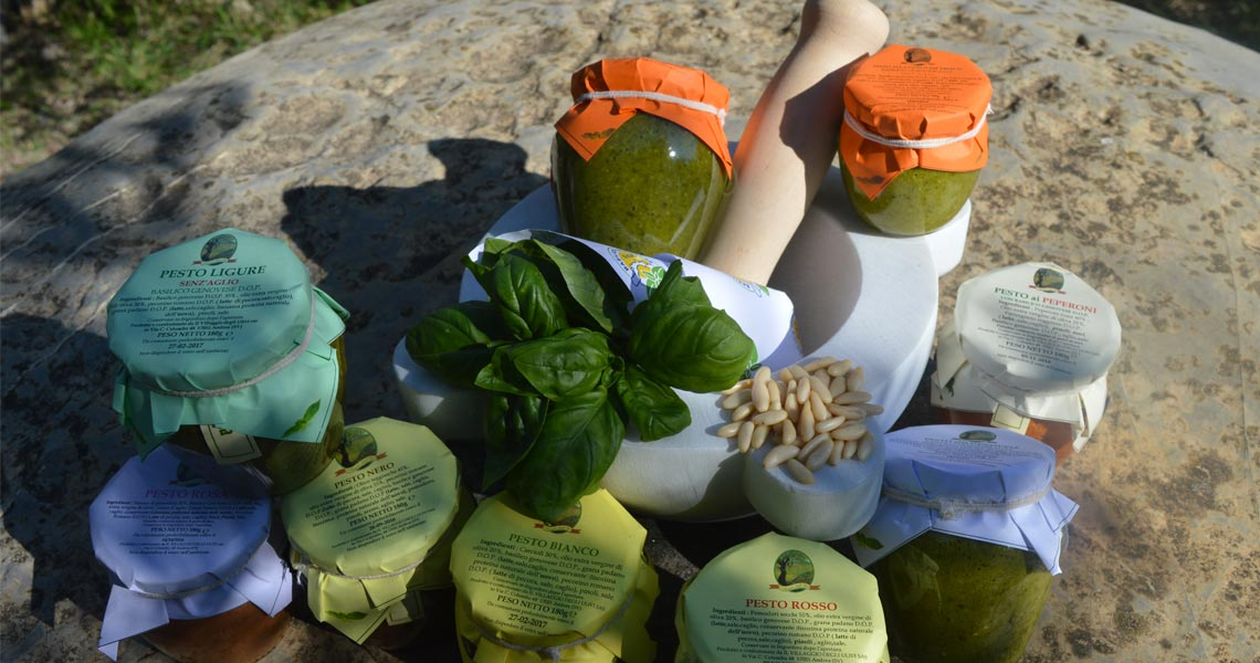 vasetti pesto ligure